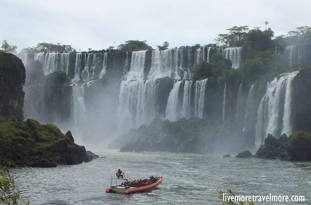 Iguazu Falls: View