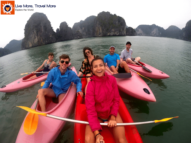 Skills a traveler develops: Halong Bay - Vietnam
