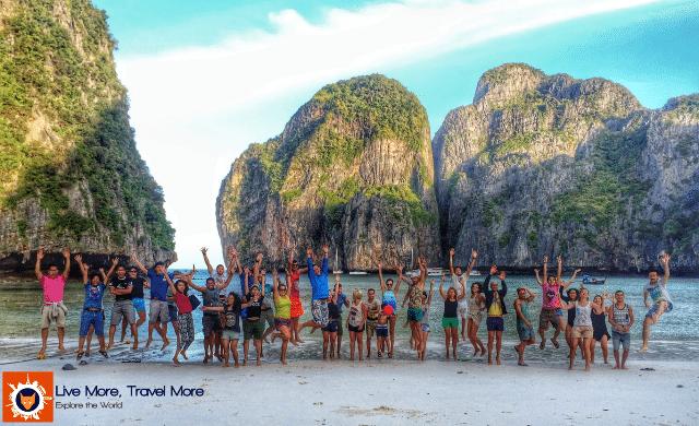 Habilidades de um viajante: Maya Bay Sleep Aboard Tour - Thailand