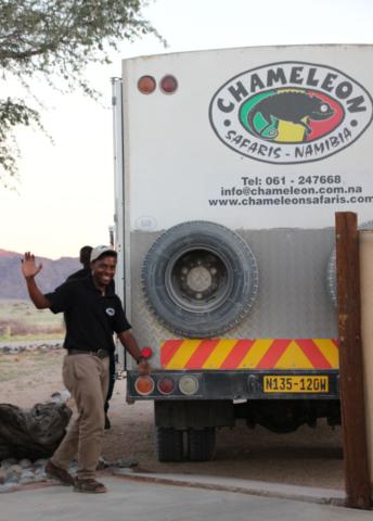Namibia - Chameleon Safaris - Crew