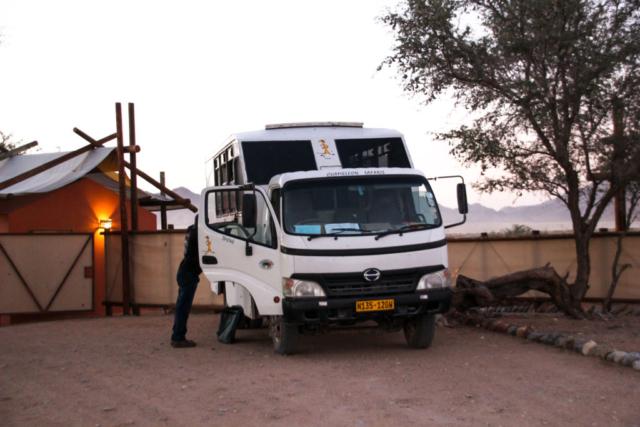 Namibia - Chameleon Safaris - Bus