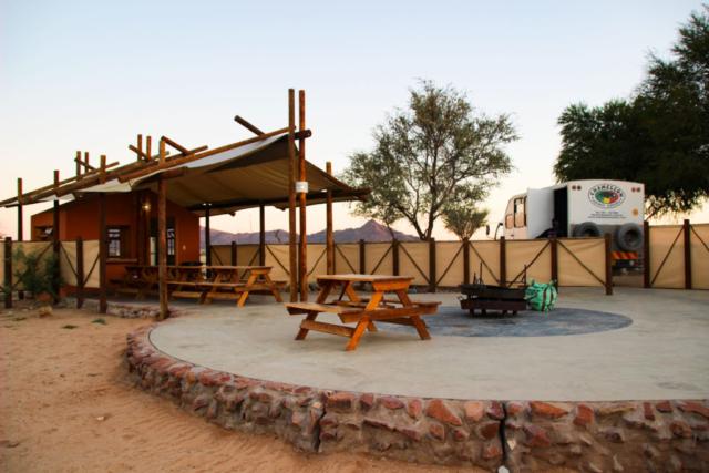 Live More, Travel More in Namibia with Chameleon Safaris - photo by Elaine Villatoro - Sossusvlei - Lodge - Desert Camp