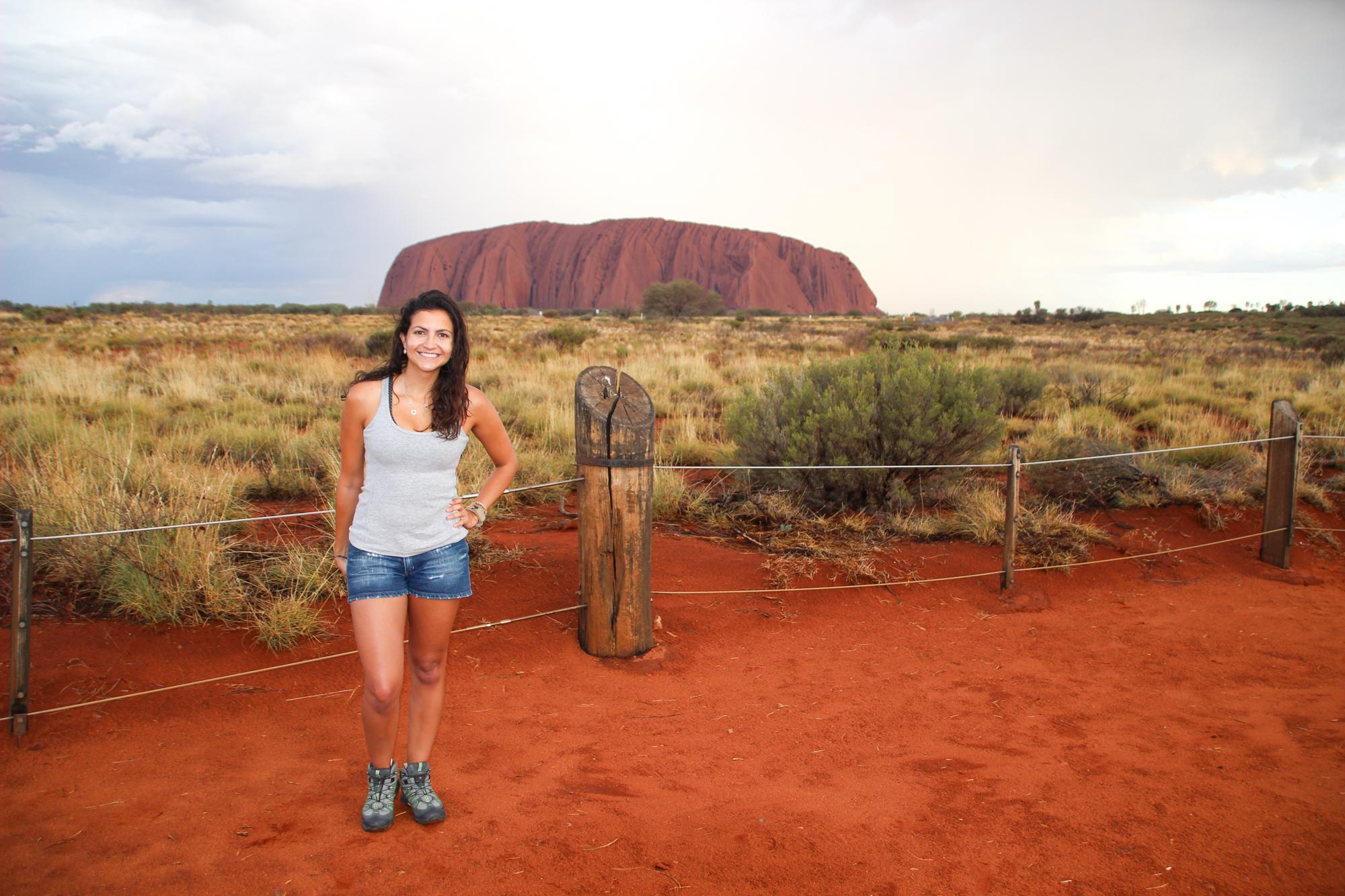 Elaine Villatoro in Australia