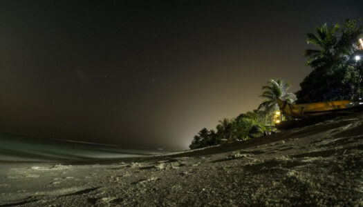 How to take a night photo with a GoPro