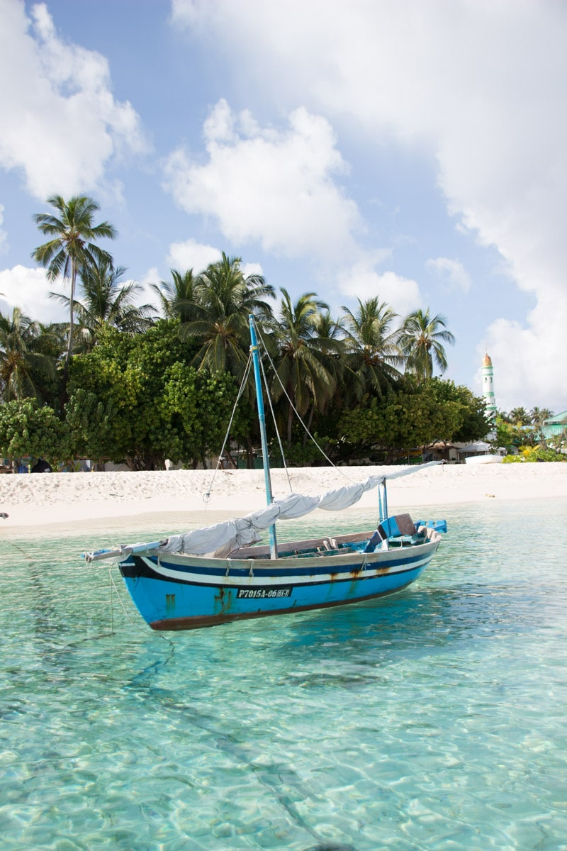 Biquíni Beach de Fulidhoo - Maldivas