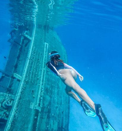 ship wreck maldives - vaavu atoll