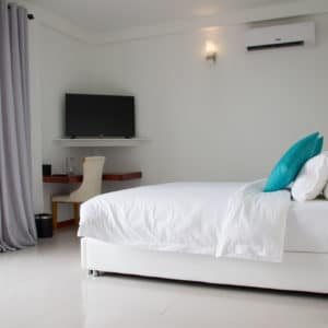Suite Room with Jacuzzi at White Sand Dhigurah Guest House in Maldives