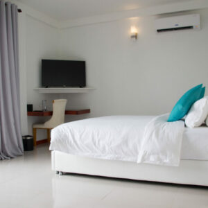 Quarto no White Sand Dhigurah Guest House