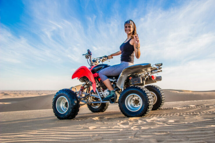 Get Discount to do a Quad Bike Tour in Walvis Bay in Namibia