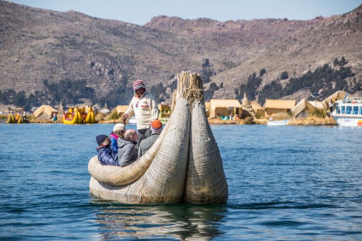 Desconto para passeio no lago Titicaca no Peru