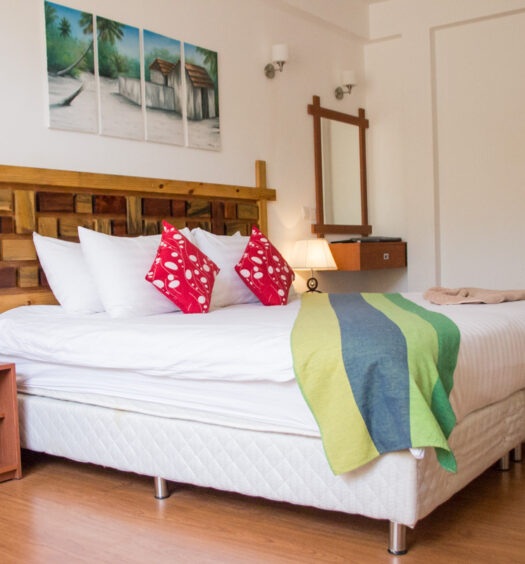 Room at Shallow Lagoon Guest House in Rasdhoo - Maldives