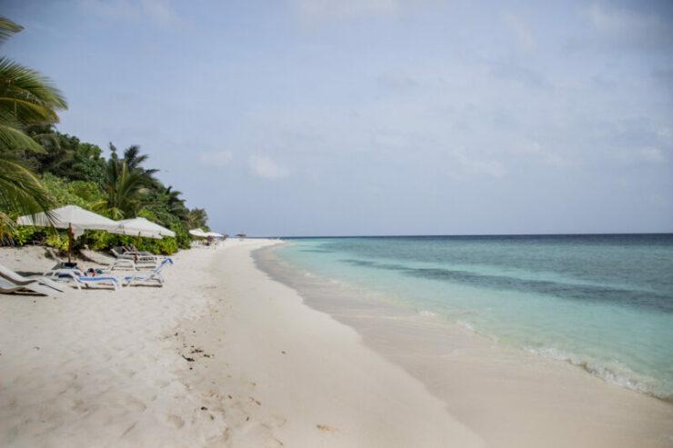 Maldives Ukulhas Bikini Beach