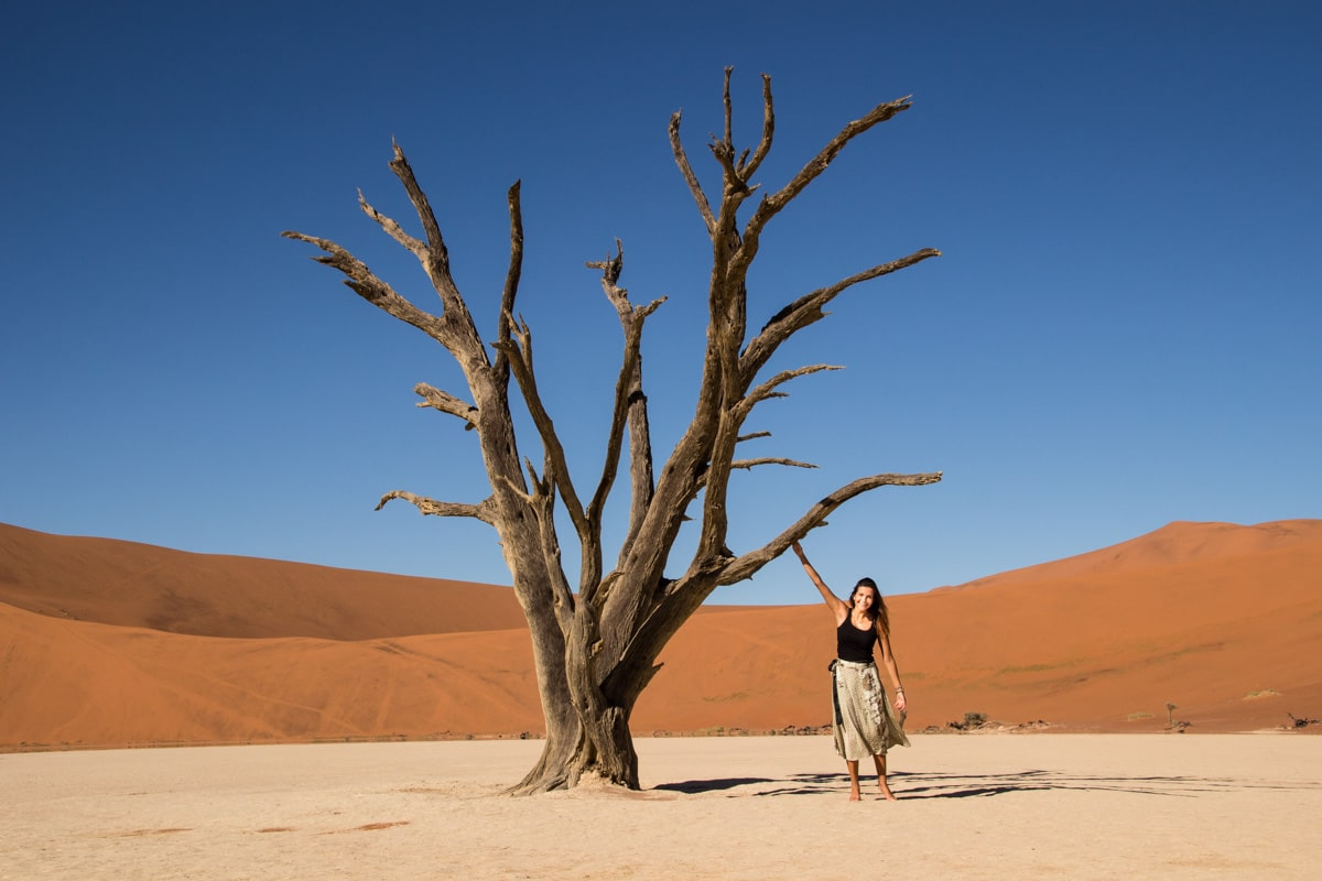 Woman Deadvlei Namibia