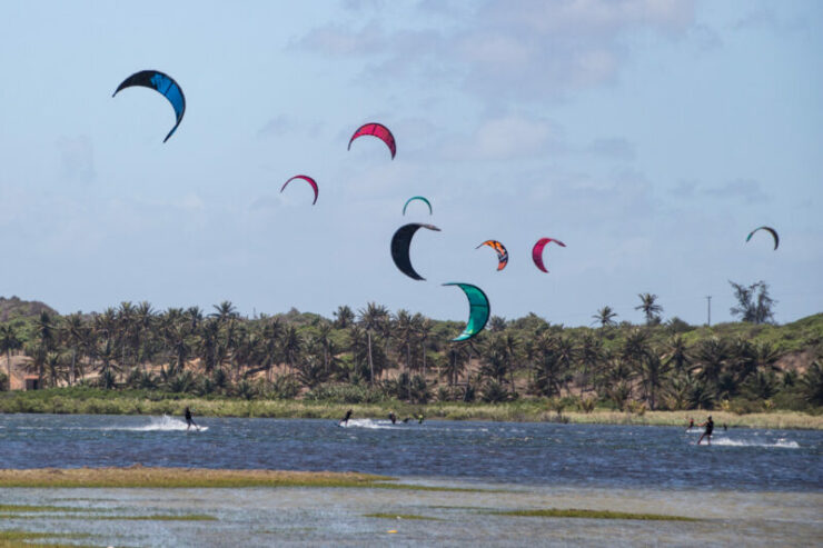 Jericoacoara Brazil Kitesurfing