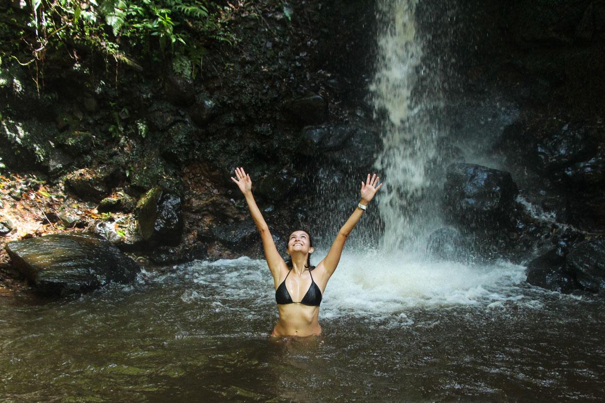 Cachoeira Cristal em Brotas
