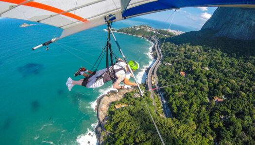 RIO DE JANEIRO – HANG GLIDING – R$50 OFF + PHOTOS & VIDEOS WITH BEST FLY RIO