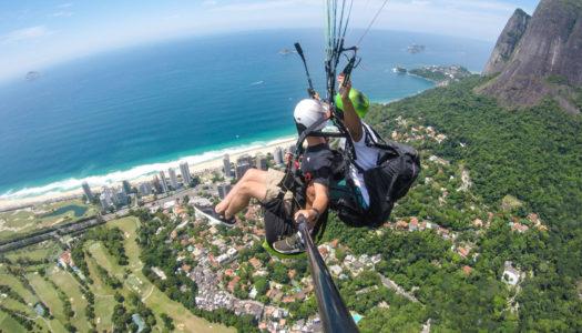 RIO DE JANEIRO – PARAGLIDING – R$50 OFF + PHOTOS & VIDEOS WITH BEST FLY RIO