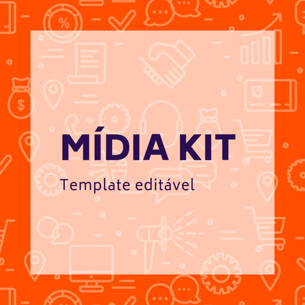 Template editável de mídia kit