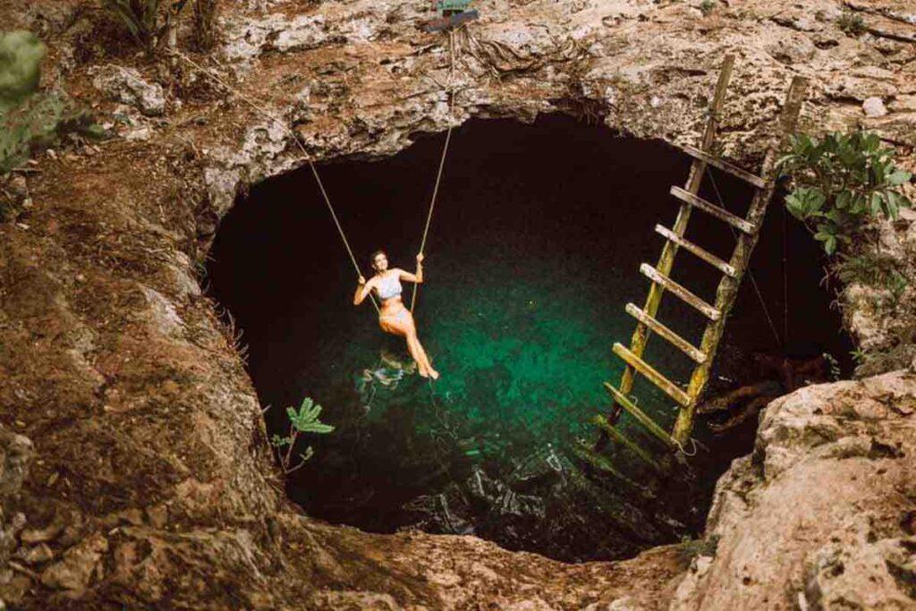 Cenote Calavera Tulum
