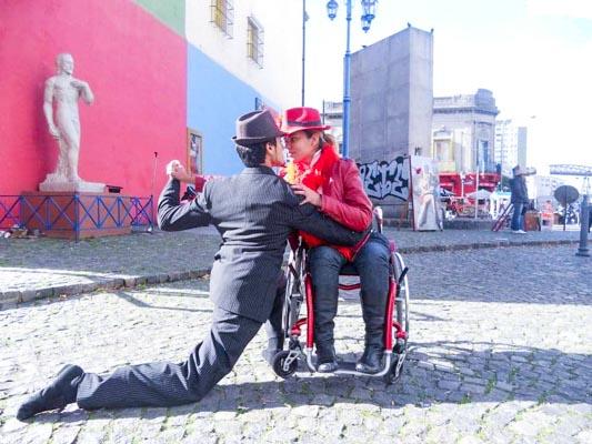 Cadeirante na Argentina
