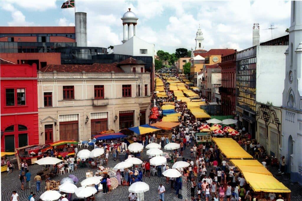 Feirinha do Largo da Ordem em Curitiba