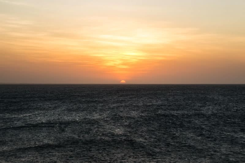 Sunset in Jericoacoara