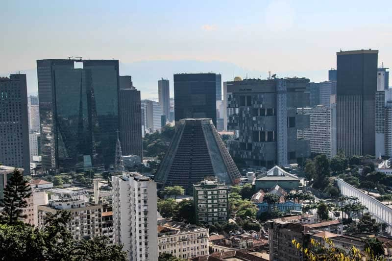 Centro do Rio de Janeiro - Vista do Parque das Ruínas em Santa Teresa